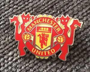 06795500a6f2 Image is loading Manchester-United-Crest-Devil-Pin-Badge