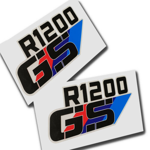 R1200GS   Motorcycle decals graphics stickers x 2  R 1200 GS