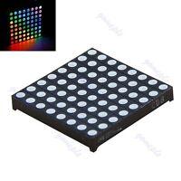 Matrix 8x8 RGB LED Full Color 60x60mm Dot Square Display Common Anode Arduino