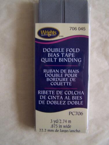 "Double Fold Bias Tape Quilt Binding 7//8/""x 3 Yd"
