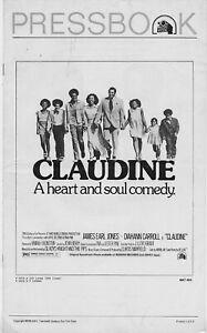 James-Earl-Jones-CLAUDINE-1973-14-pgs-ORIGINAL-Uncut-Complete