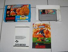 Super Nintendo SNES INTERNATIONAL SUPERSTAR SOCCER DELUXE calcio PAL BOX Fifa