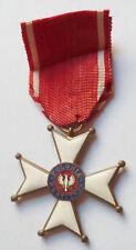 Médaille Croix Chevalier Ordre POLONIA RESTITUTA 1944 ORIGINAL POLAND MEDAL WWI