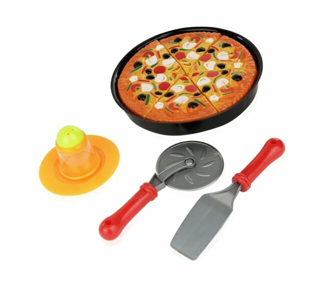 11 Pc Pizza Set For Kids Play Food Toy Great A Pretend Party Fast Cooking Cutt Sale Online Ebay