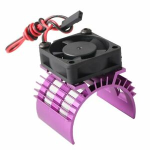 540//550 Motor Heat Sink with Cooling Fan RC Part for 1//10 RC Car HSP//Redcat//D90