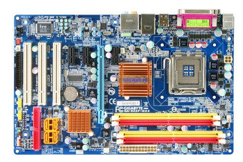 Gigabyte GA-945P-DS3 (rev. 2.0) socket 775
