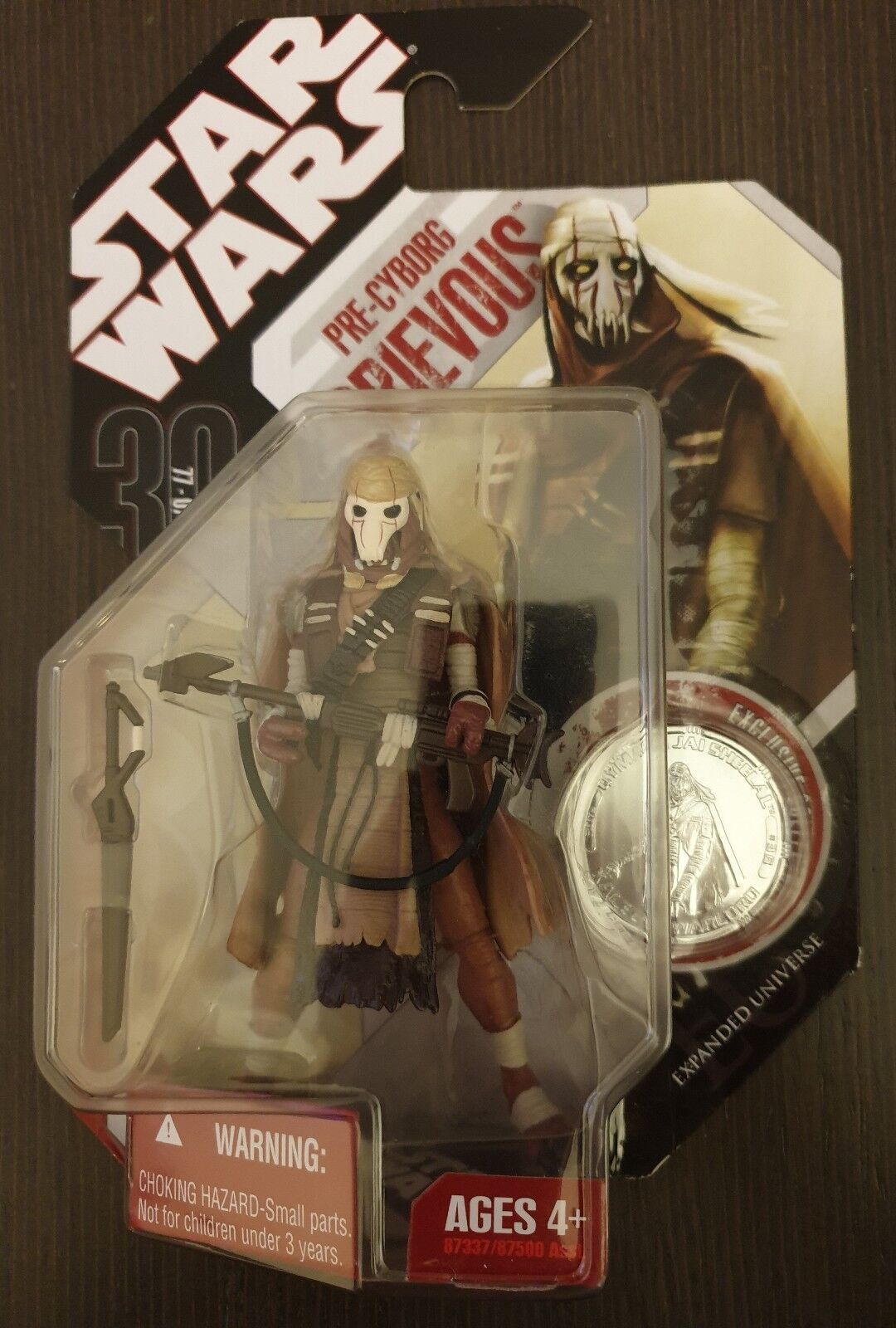 STAR WARS 30th  n36 PRE CYBORG GRIEVOUS EXPANDED UNIVERSE