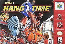 NBA Hang Time Nintendo 64 N64 Authentic OEM Video Game Cart OG Basketball Retro