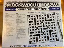 Jigsaw Puzzle Crossword Double