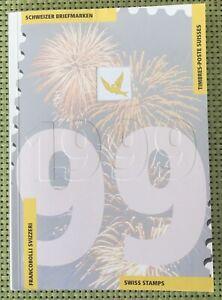 Jahrbuch Der Schweizer Briefmarken 1999