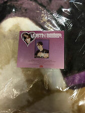 BRAND NEW OFFICIAL JUSTIN BIEBER 60X80 TWIN SIZE BLANKET