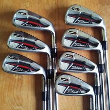 Titleist AP1 710 Iron Set 5-PW & W Stiff Flex Steel Dynamic Gold S300 Shafts!