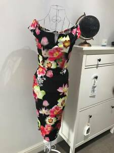 Floral-Dresses-Ladies-Party-Dress-Wedding-Guest-Race-Day-Occasion-Outfit-RRP-45