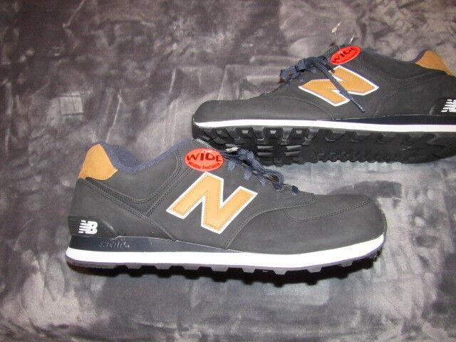 Men's NWOB NEW BALANCE ML574SLA Luxury Pack Running Shoes Sz 18 2E BRAND NEW