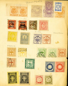 Italy Stamps 25x + mint/used Revenues Rare & never seen