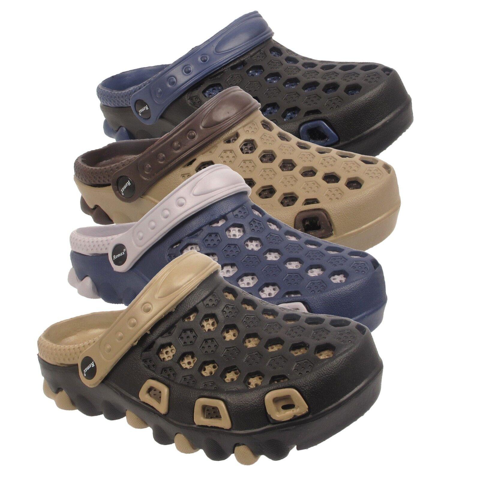 Mens Garden Clogs Sandals Beach Hospital Shoes Fishing Summer Sandals Clogs Gardening Mules 4dfbeb