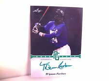 TI'QUAN FORBES Auto 2013 Leaf Perfect Game 06/10 Rookie Autograph FREE SHIP