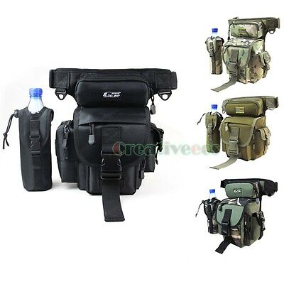 New Men's Military Tactical Travel Messenger Fanny Pack Waist Thigh Drop Leg Bag