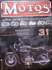 FASCICULE 31 MOTOS CLASSIQUES SANGLAS 400T 1966  MOTORCYCLE MOTORRAD
