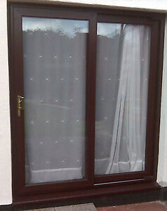 Upvc patio doors full mahogany sliding patio door 1900mm x image is loading upvc patio doors full mahogany sliding patio door planetlyrics Gallery