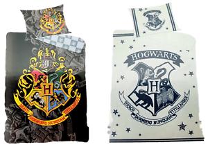 Harry Potter Bettwäsche in 2 Motiven 140X200 100/% Baumwolle Öko Tex