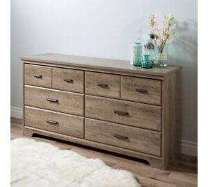 South Shore Versa 6-Drawer Double Dresser, Multiple Finishes