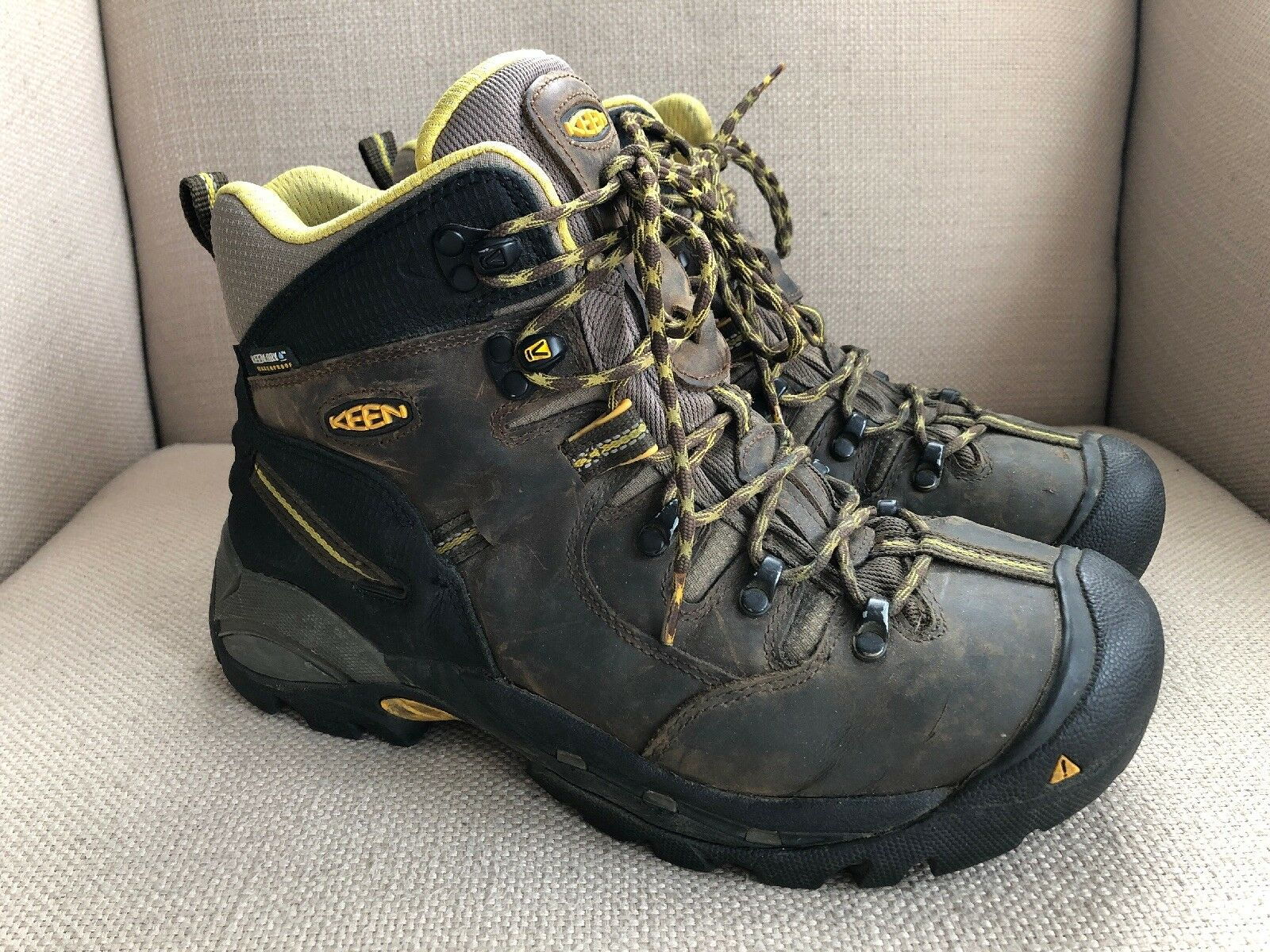 KEEN Pittsburgh 1007025 Steel Toe Work schuhe Stiefel US Mens 9 EE