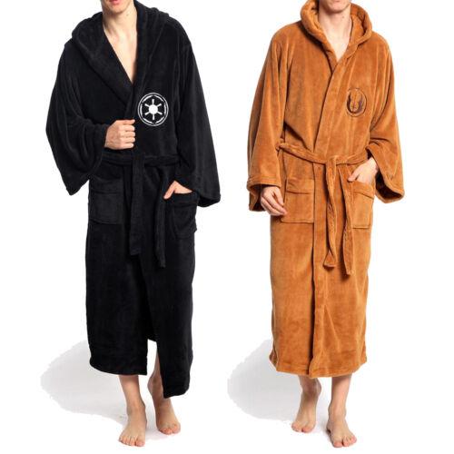 Star War Bademantel Bathrobe Schlafanzüge Kapuze Morgenmantel Robe Party Kostüm