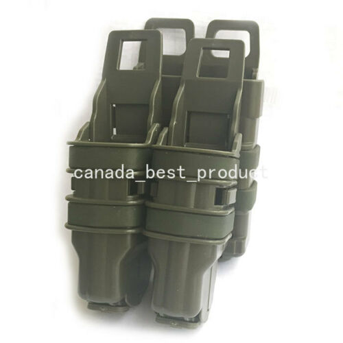 Tactical Fast Mag Pouch MOLLE Pistol Holster 5.56 Holder Set 2 in 1 USA