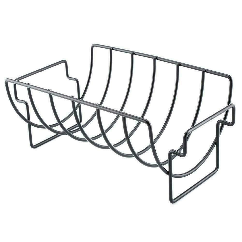 Stainless Steel Roasting Bbq Steak Rack Non Stick Grill Metal Tools Rib Y8I5