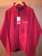 NEW HONDA RED SOFTSHELL JACKET XL - FREE POSTAGE