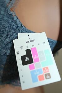 a45e1a2fc11 Pink By Victoria s Secret Eyelash Lace High-Neck Bralette Gray Push Up Nwt