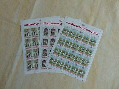 50,00 Liechtenstein Nr 951-953 Postfrisch Im Kompl.kleinbogen