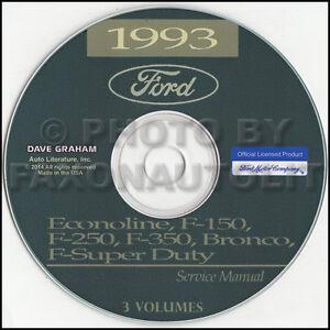 1993-Ford-Truck-Shop-Manual-CD-F150-F250-F350-Pickup-Bronco-F-Super-Duty-Service