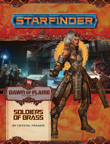 Adventure Path Soldiers of Brass Dawn of Flame 2 PZO7214 Starfinder RPG
