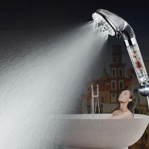 Hochdruck Duschkopf Mineral Kugel Stark Steigerung der Spray Bade Wasser