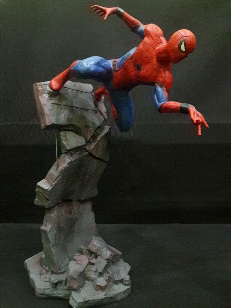 Spiderman  Civil Civil Civil War  statue with 1 6 scale dda420