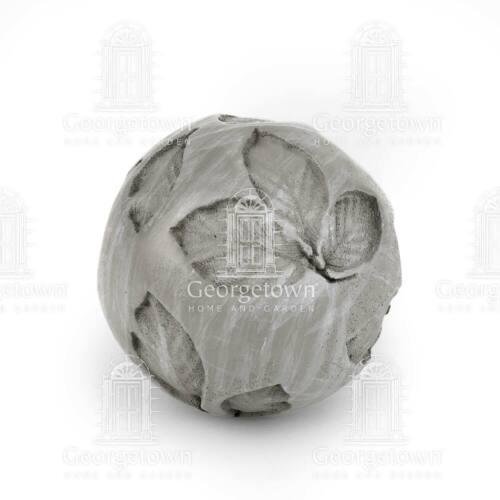 Sensory Leaves Sand Pattern Zen Sphere Orb GO 17812 Miniature Garden Bonsai Clay
