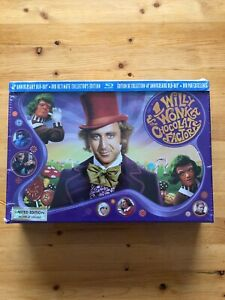 Willy-Wonka-amp-The-Chocolate-Factory-Blu-ray-Box-Set-New-and-Sealed