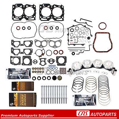 Head Gasket Set Bolt Kit Fits 99-09 Saab 9-2X Subaru Impreza 2.5L SOHC EJ253 EJ25