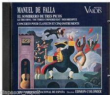 De Falla: El Sombrero De Tres Picos (Il Cappello a Tre Punte) / Colomer - CD