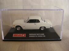 1:72 REAL-X NISSAN SKYLINE 2000??-X KGC10 White HISTORIES Collection 4th