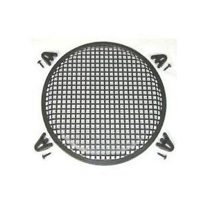 FREE-SHIPPING-10-034-Steel-Waffle-Speaker-Grill-with-Mounting-Brackets-and-Screws