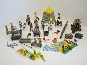 2# Ritter Schwanenritter Zelt Kanone Zubehör Konvolut Sammlung 3666 3654 Klicky
