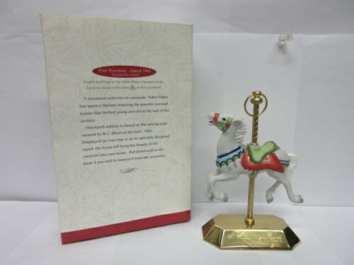 Details about  /Hallmark Keepsake Tobin Fraley Carousel Horse #4