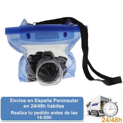 Envio express Funda impermeable agua para camara digital gran formato o reflex