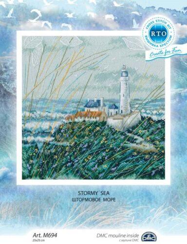 Counted Cross Stitch Kit RTO-Stormy Sea