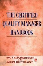 The Certified Quality Manager Handbook/With Supplemental Section (Asq)