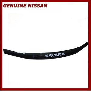 Genuine-Nissan-Navara-D40-2010-2015-Bonnet-Hood-Deflector-Chip-Protector