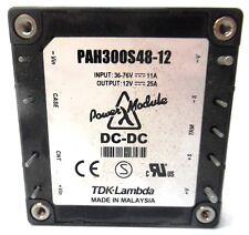 TDK-LAMBDA, ISOLATED DC CONVERTER, PAH300S48-12, 300 WATTS